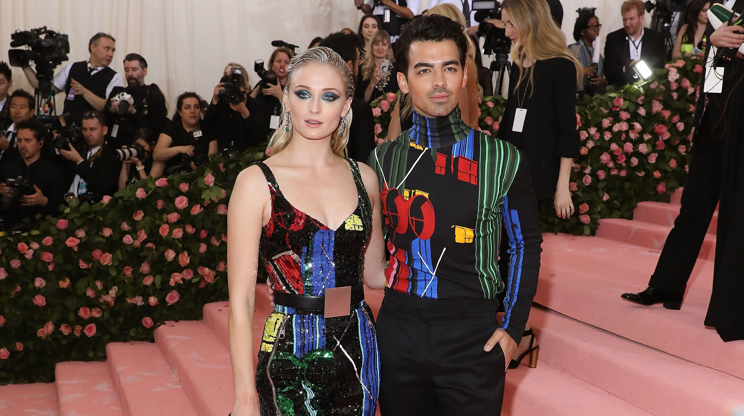 Sophie Turner Wedding.Joe Jonas Said Diplo Ruined Secret Wedding To Sophie Turner