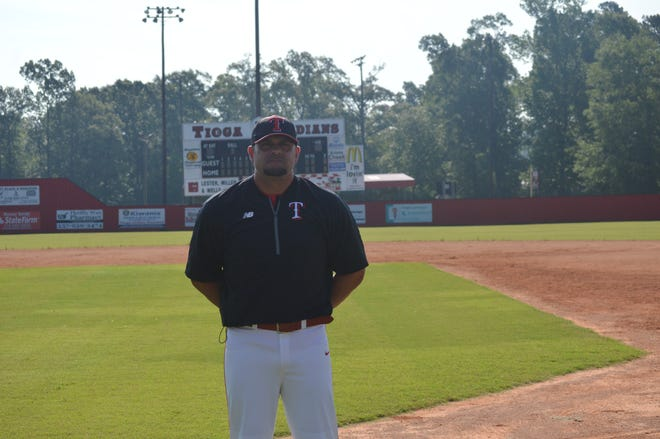 Tioga coach Dave Montiel is the 2019 All-Cenla baseball Coach of the Year.