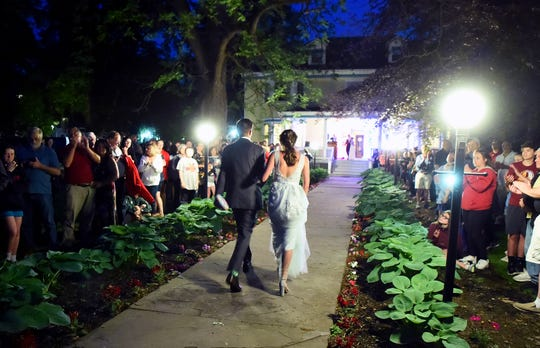 Owego Free Academy students celebrated prom at the Pumpelly House Estate on Friday, May 31, 2019.
