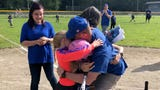 Brad Kennedy had a special surprise for his kids Saturday morning. They hadn't seen each other since his deployment began eight months ago.