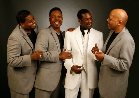 The Drifters perform June 13 at the Suquamish Clearwater Casino Resort.