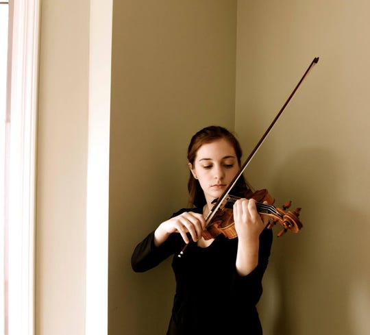 Violinist Emily Acri performs with the Bainbridge Symphony Orchestra May 8 and 9.