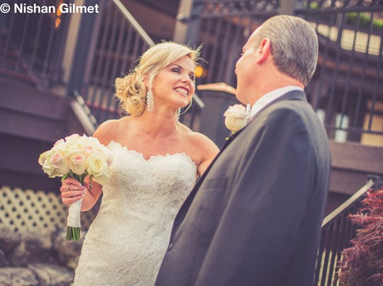 "Sheree Paolello and Mike Dardis, co-anchors of the evening news for WLWT News, married on Friday. ""I know this is a unique situation for Cincinnati and all over for local news,"" Dardis earlier told The Enquirer"