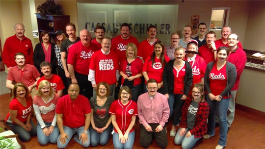 Employees at Cassidy Schiller CPAs on Opening Day.