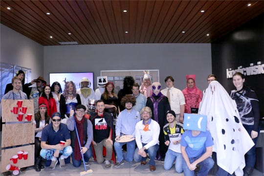 Kinetic Vision's Halloween costume contest