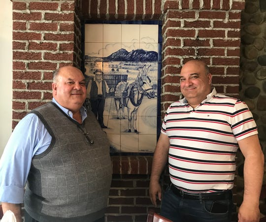 Tony and Lou Nobre, owners of Sol-Mar Restaurant.
