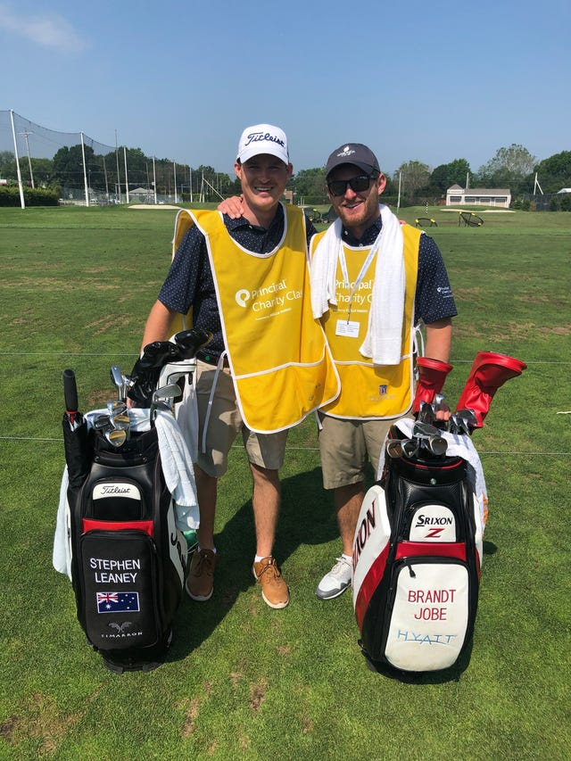 Help wanted: 4 emergency caddies in use at Principal Charity Classic