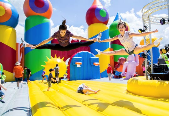 Big Bounce America inflatables will be in Fraser through June 16.