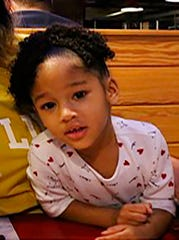 This undated file photo released by the Houston Police Department shows 4-year-old Maleah Davis, whose mother said she was abducted on May 4, 2019.
