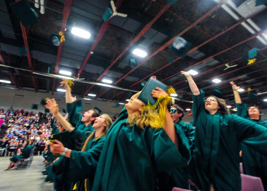264 graduates in the C.M. Russell High School Class of 2019 were honored in a commencement ceremony on Friday evening in the Four Seasons Arena.