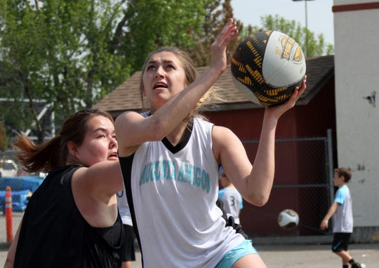 The Spring Fling Hoop Thing 3-on-3 basketball tournament celebrated its 25th anniversary Saturday at Montana ExpoPark in Great Falls.