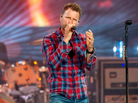 Dierks Bentley performs Friday at Ruoff Home Mortgage Music Center.