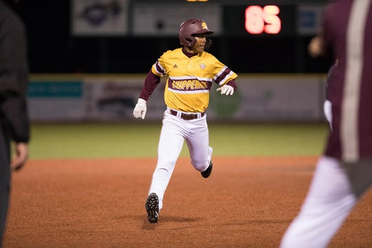 Central Michigan outfielder David Cole and his teammates take a 19 game winning streak into their game against Mississippi State.