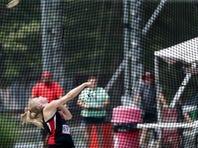 Rensselaer junior Hannah Redlin wins state discus title