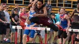 John Glenn's Joseph Clifford looked strong in his bid to repeat as a Division II state hurdles champion on Friday.