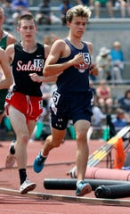 Braxton Tate finished seventh in the 3200 last year in his first state track appearance.