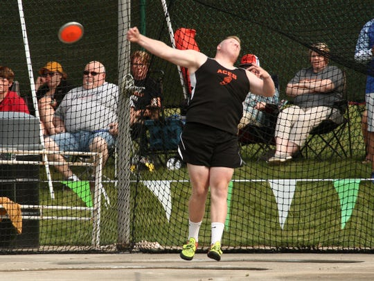 Amanda-Clearcreek senior Noah Smith was the Mid-State League-Buckeye Division Most Valuable Field Events winner.