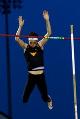 Alex Mutchler was a state runner-up in the pole vault last year.