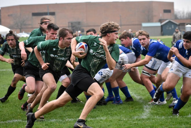 Mike Senecal played in four state championship rugby games during his career at Howell.