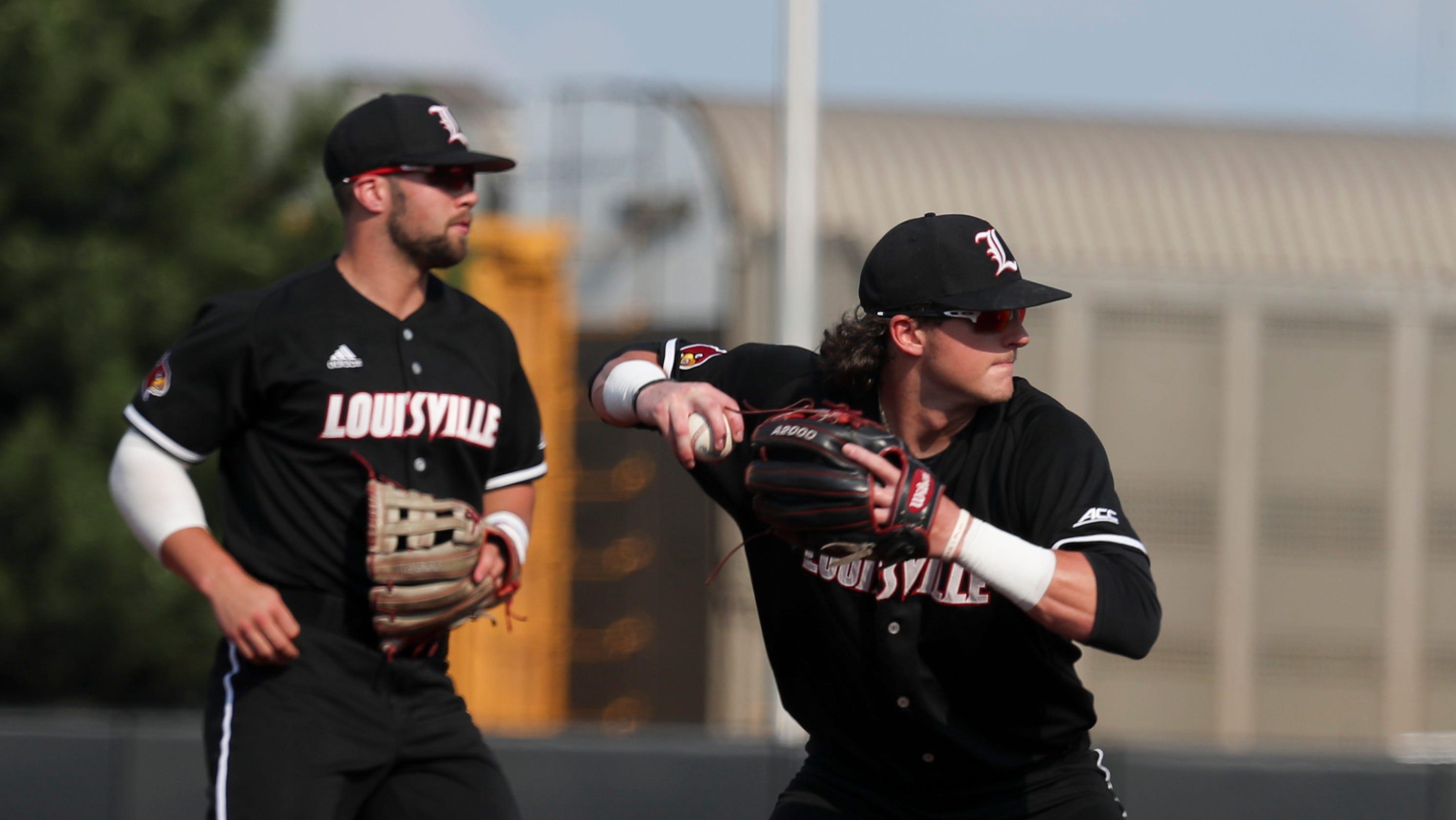 san francisco 3794d 6ade1 Louisville baseball upset by Illinois State, will play Indiana on Sunday