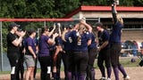 Hear from coach Lorrie Chaperon and Leah Ash after Fowlerville's district final win on June 1, 2019.