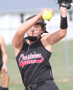 Crestview's Kylie Ringler was named the Firelands Conference Pitcher of the Year for 2019.