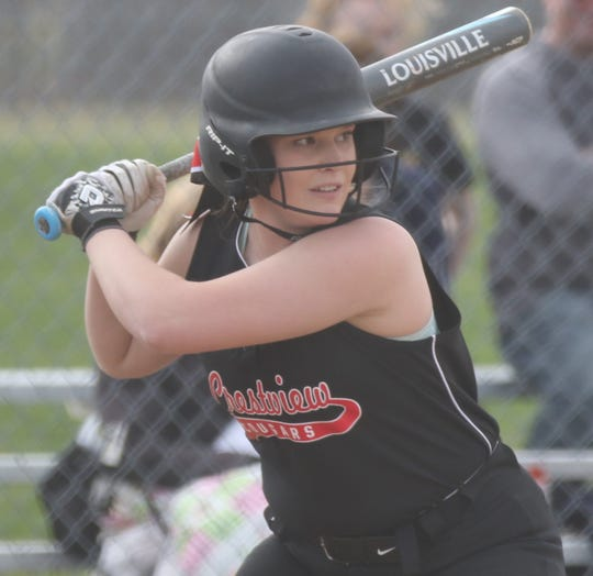 Crestview's Clare Robertson was named the Firelands Conference Player of the Year for 2019.