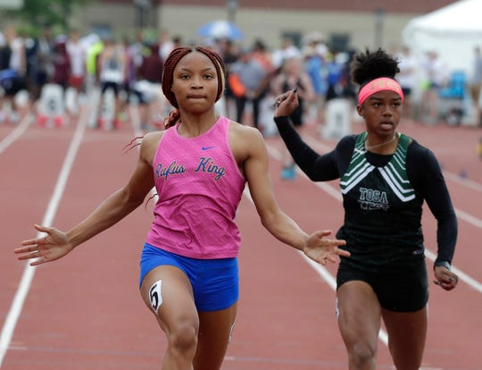 Amari Brown has won five state track and field medals and still has another year to add to her total.