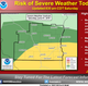 Severe storms possible Saturday across southern Wisconsin