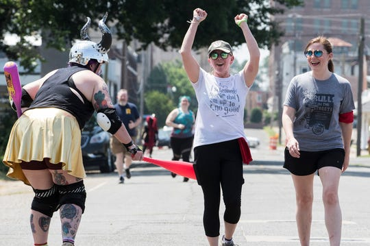 Flying Tiger Brewery hosted the Roe City Rollers for their 3rd annual Bulls in the Streets Fun Run in Monroe, La. on June 1.