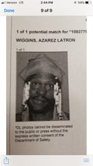 A photo of Azarez Latron Wiggins shared by Gallatin police