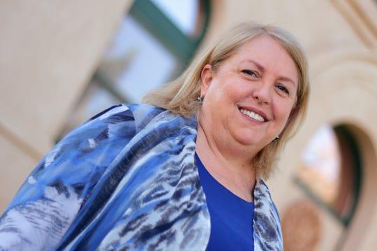 NMSU Honors College dean Miriam Chaiken.