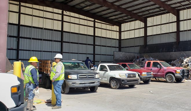 The Chaparral Transfer Station was constructed two years ago and may prove to be the role model for solid waste and recycling services for all of Doña Ana County.