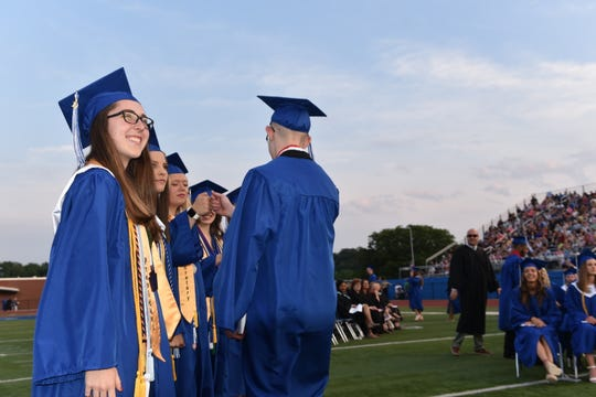 The Spring Grove Area High School Class of 2019 graduated on Friday, May 31, 2019.