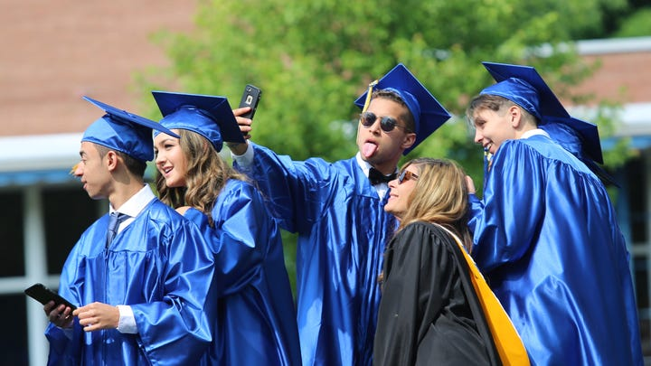 'Friends are like family' at Lourdes as class of 2019 celebrates graduation