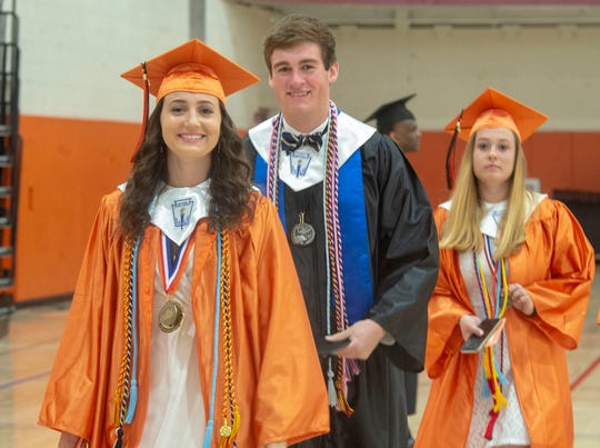 Central York High School graduated nearly 500 students in a ceremony on Friday, May 31, 2019.