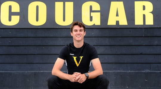 Derek Pekar starred in the hurdles, long jump and pole vault during a busy career at Ventura High.