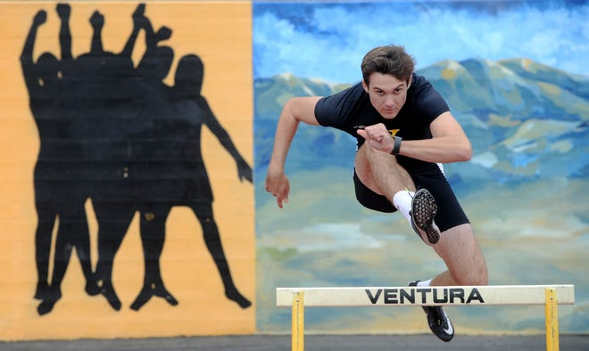 After earning a scholarship to Virginia in the decathlon, Derek Pekar helped Ventura win a CIF-SS team title and then qualified for the state championships in three events.