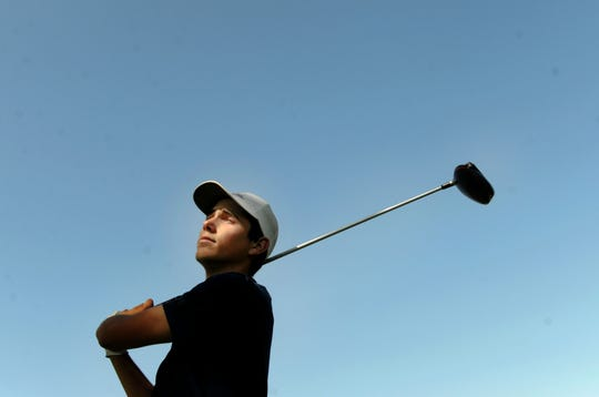 Camarillo's Joey Zambri puts the time in needed to succeed on the golf course.