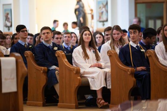 John F. Kennedy Catholic High School celebrates the Class of 2019's graduation ceremony at the St. Jospeh Catholic Church in Somers June 1, 2019.