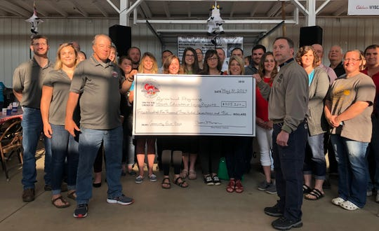 Numerous non-profit groups will share $217,000 of grant money to help promote agriculture in Wood and surrounding counties with funds made available from the proceeds of Wood County Farm Technology Days last year.