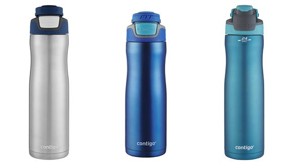 Planning a hike? Don't forget to grab one of these Contigo water bottles.