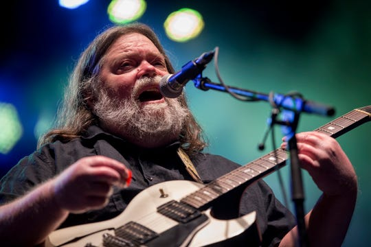 In this March 17, 2018 photo, Roky Erickson performs at the South by Southwest Music Festival in Austin, Texas.