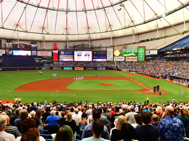 Tampa Bay Rays exploring two city stadium solution with Montreal