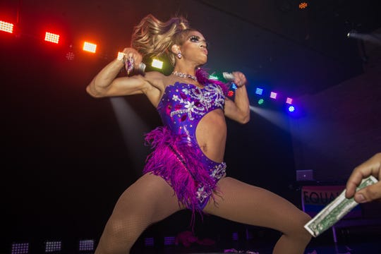 Long Branch native, Asbury Park-based drag queen Jolina Jasmine, pictured at the WERK: Asbury Park Pride dance party at House of Independents featuring Naomi Smalls, Scarlet Envy, and DJ Tyler Valentine. Saturday, June 1st, 2019, in Asbury Park.
