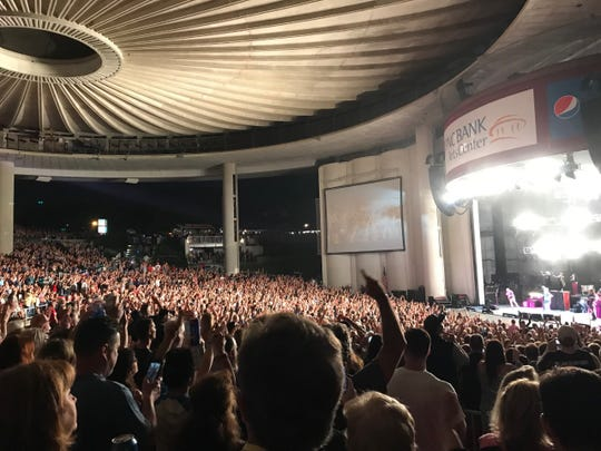 Bob Seger and the Silver Bullet Band at the PNC Bank Arts Center in Holmdel on June 1, 2019.