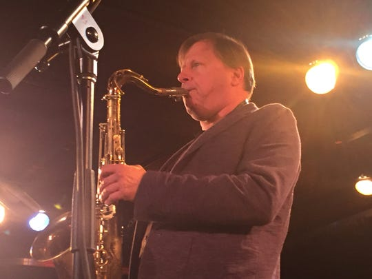 Chris Potter leads his group Circuits Trio at FlynnSpace during the Burlington Discover Jazz Festival on June 1, 2019.