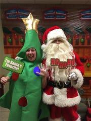 Santa Claus visits Sharefax Credit Union