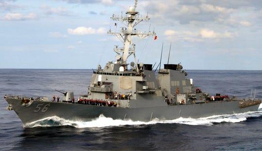 The USS John S. McCain