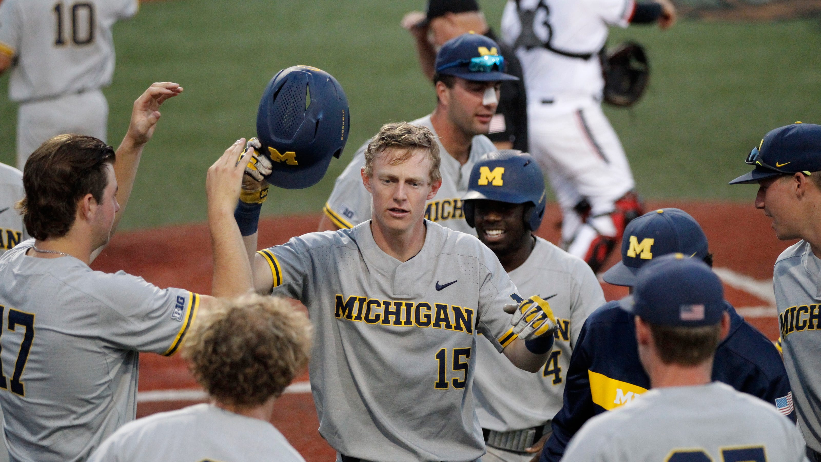 Saturday S College Baseball Um A Win From Advancing Cmu Faces Elimination Game